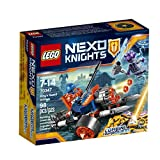 LEGO Nexo Knights King's Guard Artillery 70347 Building Kit (98 Piece)
