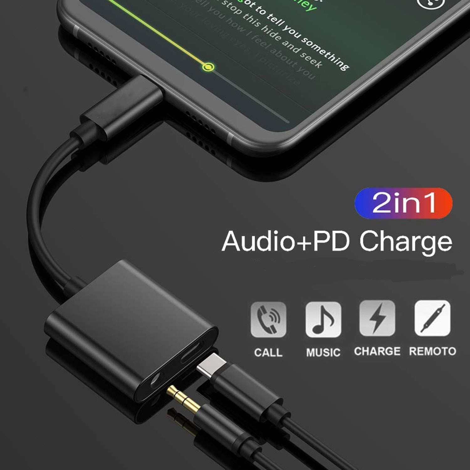 Galaxy Note 10//10+,iPad Pro 2018 HTC Essential Phone,XiaoMi and More USB C Phone USB C to 3.5mm Headphone Adapter with Fast Charging Compatible for Pixel 4 4XL 3 3XL 2 2XL Not for Moto and OnePlus