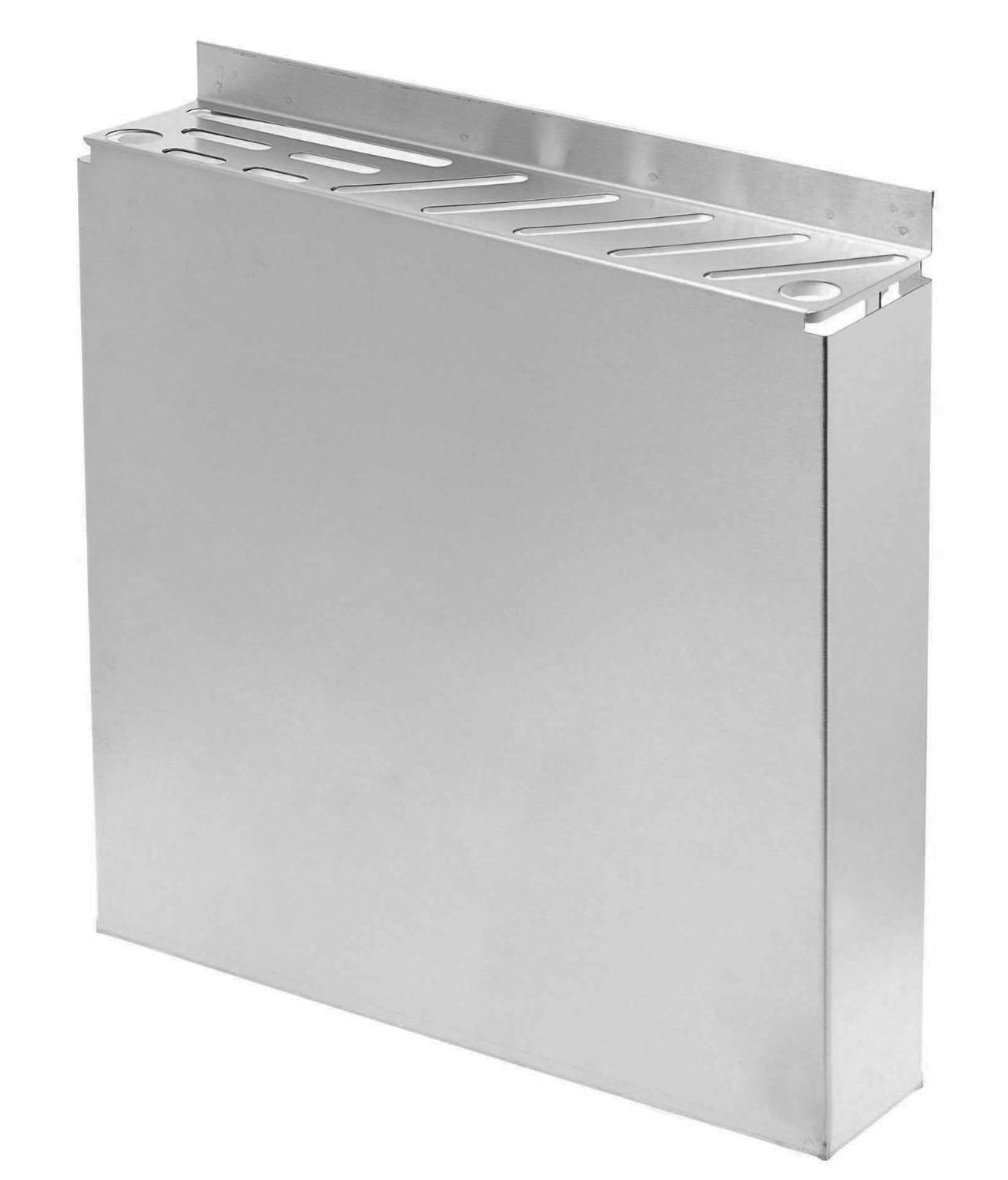 Stainless Steel Knife Rack - Fits Assorted Sized Knives - 12'' x 2.5''