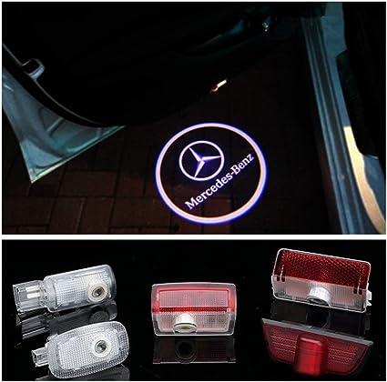 deleika Mercedes Benz coche Logo Puerta Bienvenido fantasma sombra ...