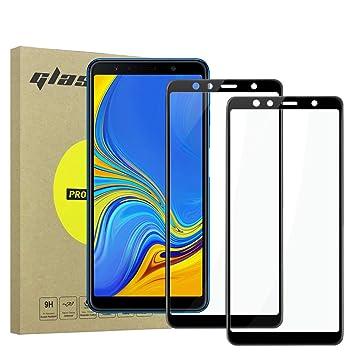 Simpeak 2-Packs Protector de Pantalla Compatible con Samsung A7 ...