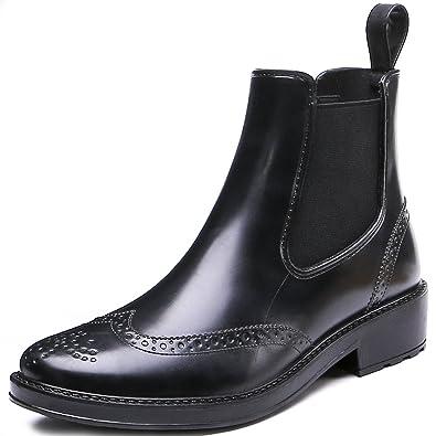 Fashion Women's Waterproof Short Ankle Rubber Rain Boots