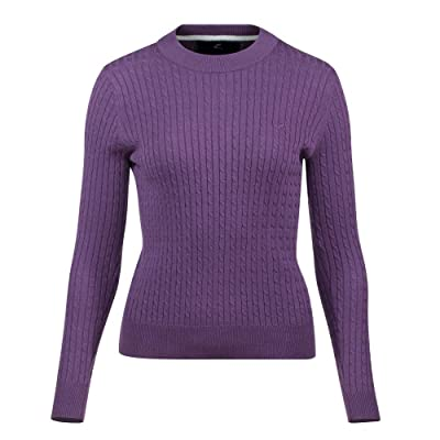 Horze Women's Rhea Knitted Pullover,: Clothing