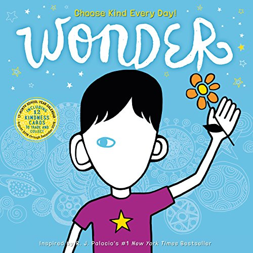 Book cover from Wonder Wall Calendar 2019 by R.J. Palacio