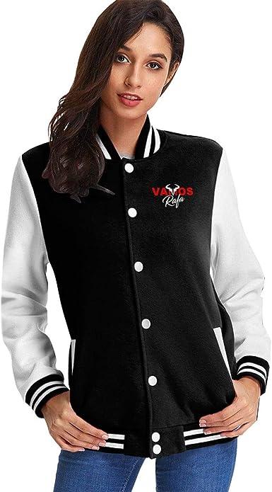 Amazon Com Mr 1415 Womens Vamos Rafa Rafael Nadal Tennis Star Jacket Sport Coat Clothing