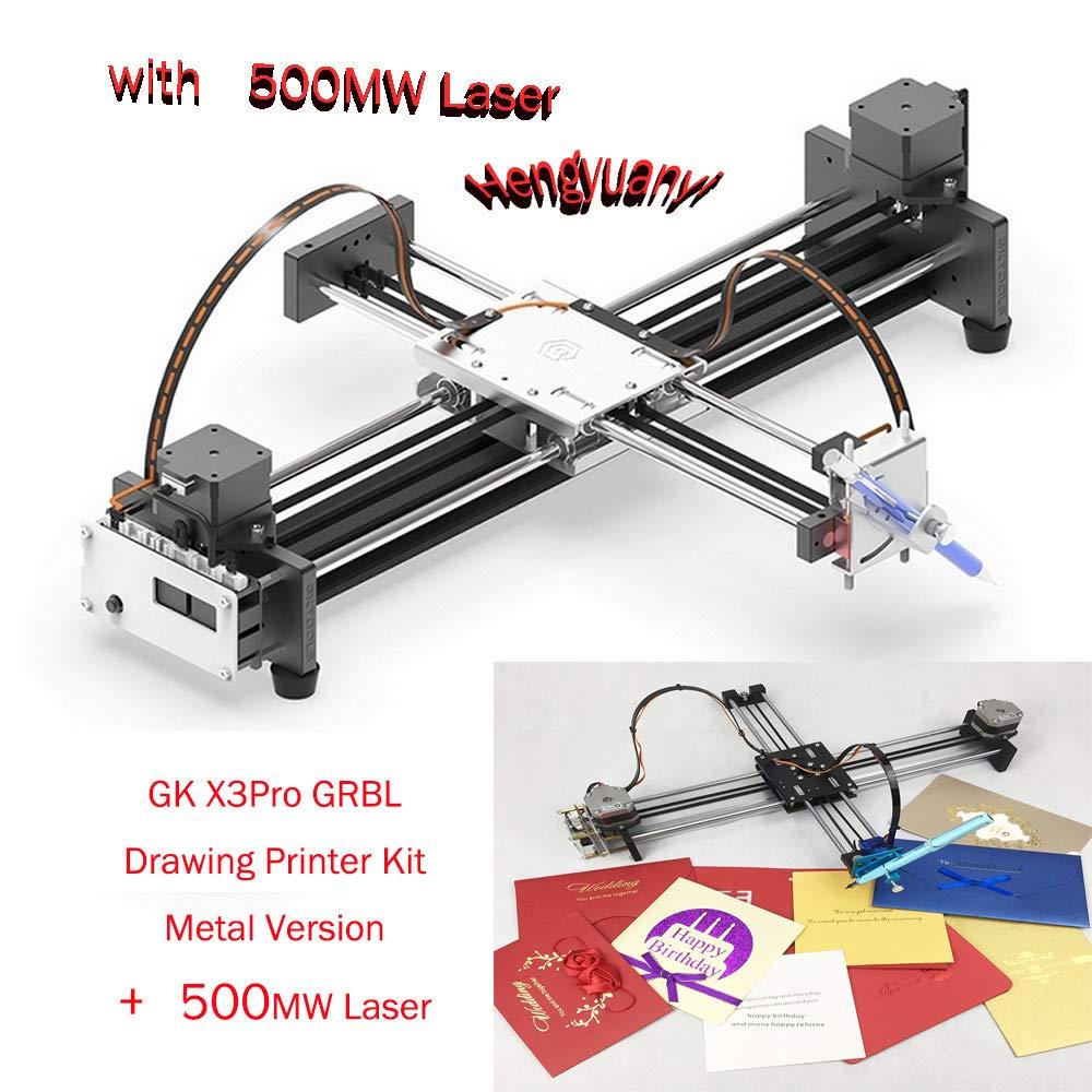 GKDraw X3 DIY Corexy XY GRBL Plotter - Kit de rotulador, máquina ...