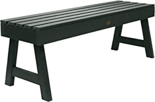 product image for Highwood AD-BENN4-CHE Weatherly Backless Bench, 4-Feet, Charleston Green