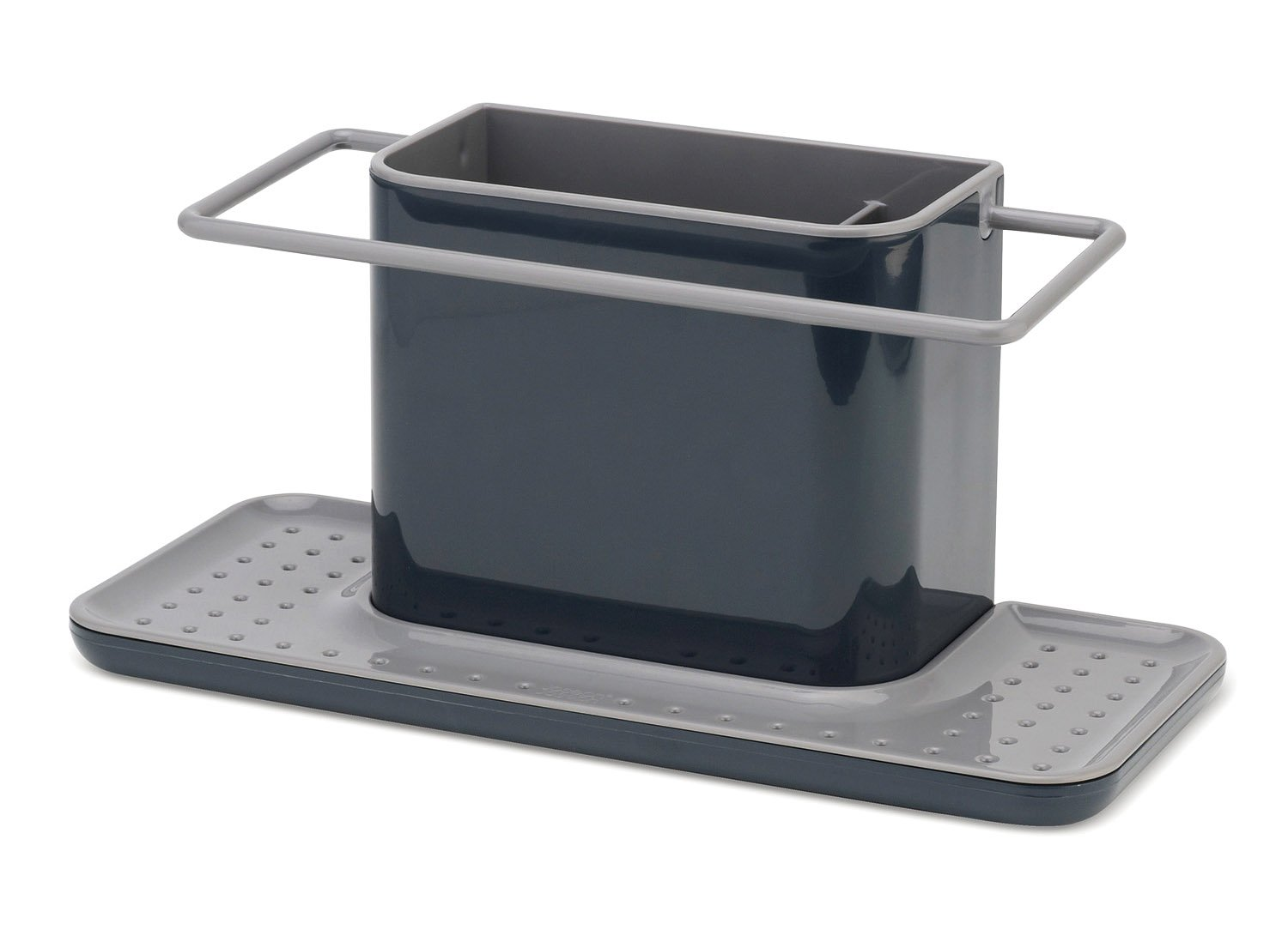Joseph Joseph 85070 Sink Caddy Kitchen Sink Organizer Sponge Holder Dishwasher-Safe, Large, Gray