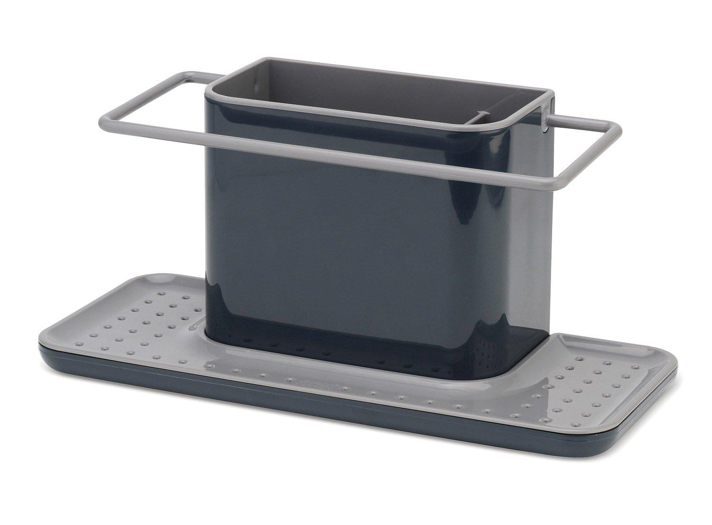 Joseph Joseph 85070 Sink Caddy Kitchen Sink Organizer Sponge Holder Dishwasher-Safe, Large, Gray