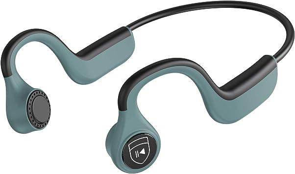 IYY Bone Conduction Wireless Headphones - Bluetooth, IP55 Waterproof, Sports Open-Ear Headsets
