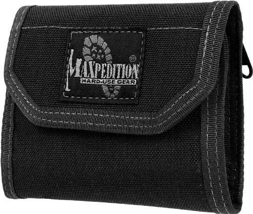 Maxpedition 9006210-SSI Maxpedition CMC Porte-Monnaie Noir