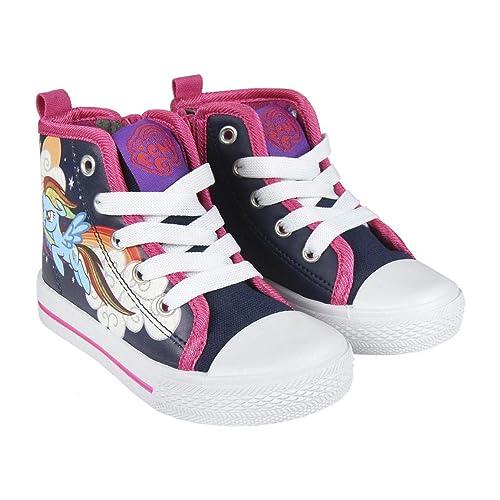 Cerdá My Little Pony, Zapatillas Altas para Niñas: Amazon.es: Zapatos y complementos