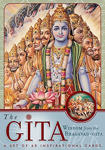 The Gita Deck: Wisdom From the Bhagavad Gita by Mandala Publishing (2002-11-05)
