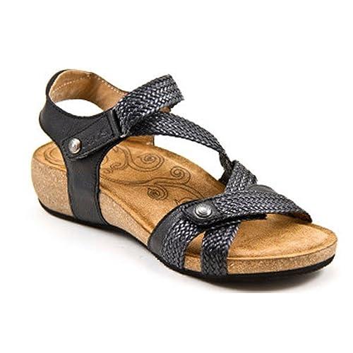 238521000d69 Taos Footwear Footwear Women s Trulie Black Sandal 43 M EU   11 B(M)