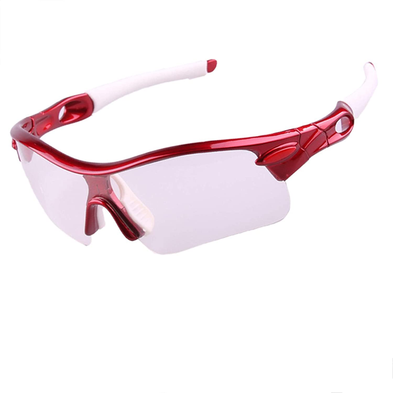 SonMo Nachtsichtbrille Schutzbrille Motorradbrille Sportbrille Snowboardbrille Skibrille Radbrille PC Polarisiert Sportbrille Blendschutz mit UV Schutz Winddicht