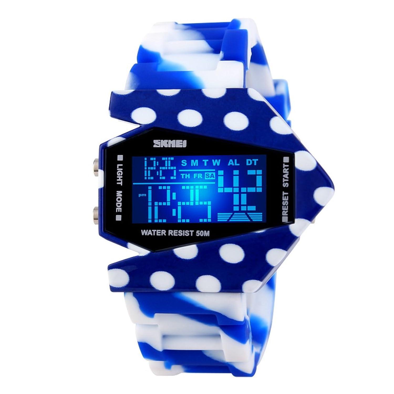クリエイティブパーソナリティWatches / Camo Watch /防水デジタルウォッチ/メンズとレディースカップルwatches-l B06XCDFTFP
