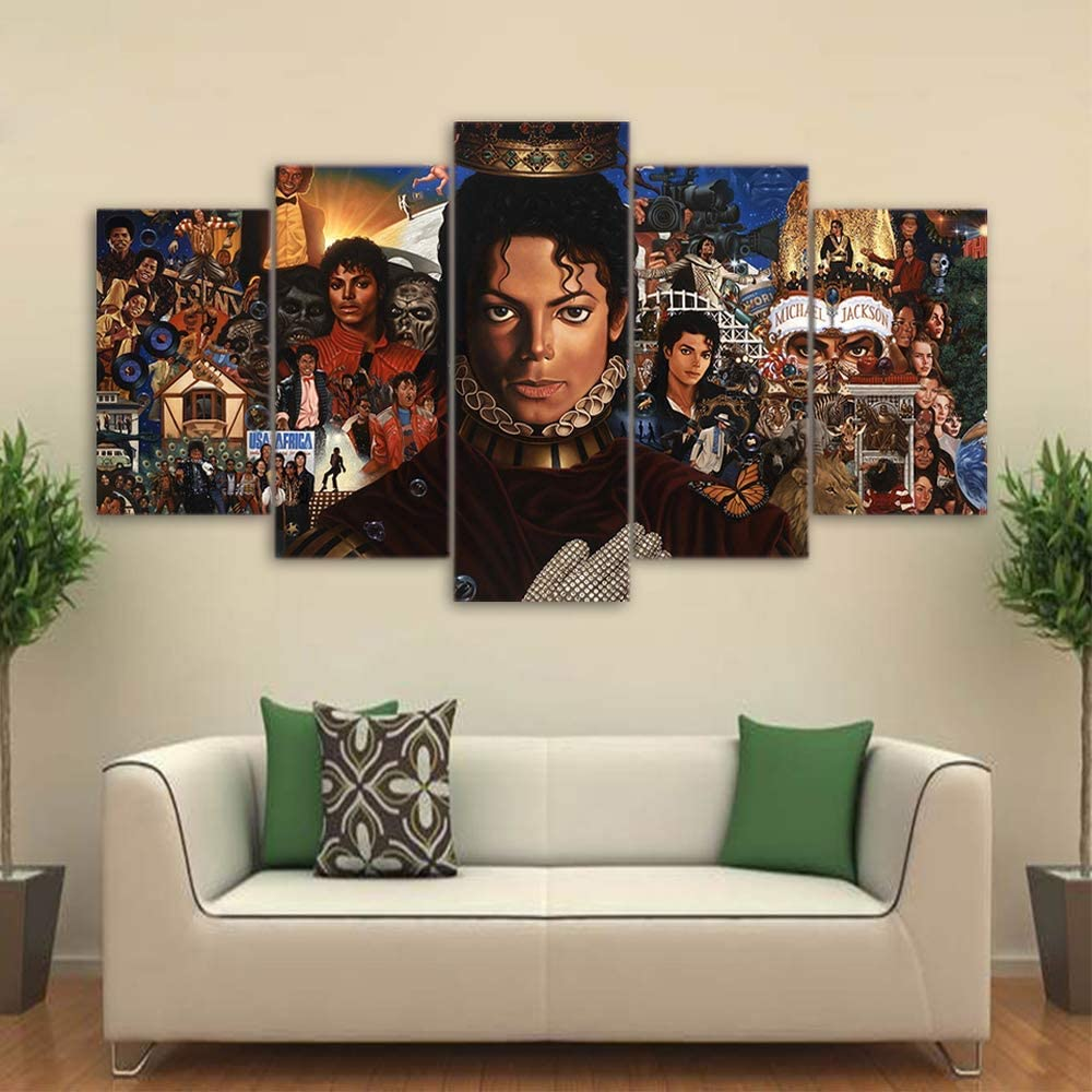 Home Garden 12 X12 Michael Jackson Wallpaper Hd Canvas Painting Home Decor Wall Art Picture Home Decor