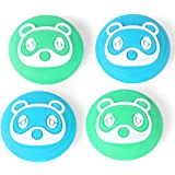 Tscope Animal Crossing Thumb Grip Caps for Nintendo Switch/Switch Lite Controller, Joy-con Analog Joystick Cute Raccoon…