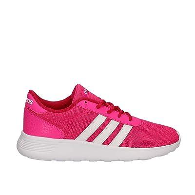 adidas Lite Racer W, Sneaker Basses Femme, Rose (Rosimp/Ftwbla/Rosfue), 40 EU