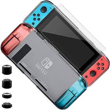 ELZO Funda para Nintendo Switch, Transparente TPU Premium ...