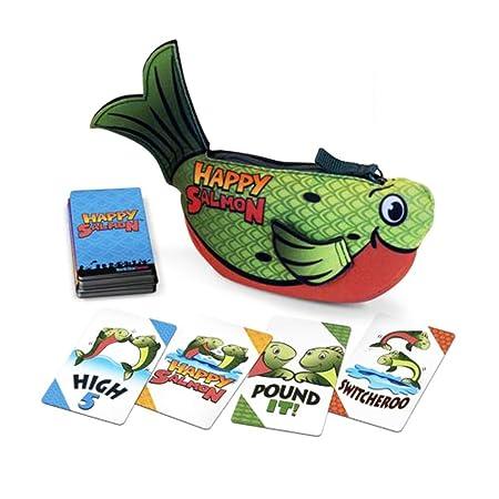 Juegos North Star Juego de Cartas Happy Salmon: Amazon.es ...
