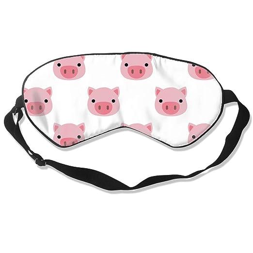 Antifaz para Dormir con diseño de Cerdo Rosa para niños y ...