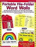 Portable File-Folder Word Walls, Mary Beth Spann, 0439051819