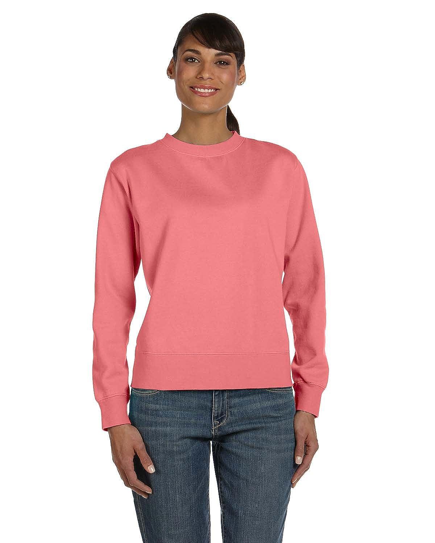 Comfort Colors Ladies Garment-Dyed Wide-Band Fleece Crew