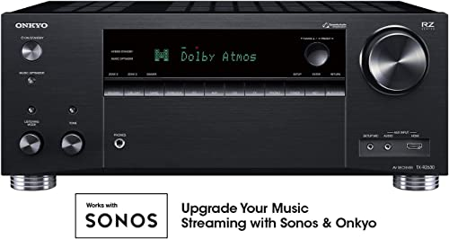 Onkyo TX-RZ630 9.2 Channel 4K Network A V Receiver Black