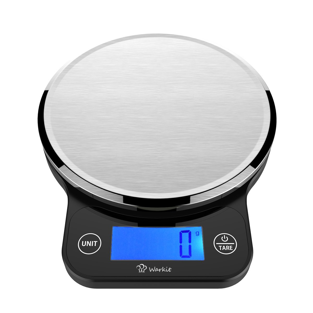 Warkit S2 Kitchen Scales Stainless Steel LCD Precise Tare Function ...