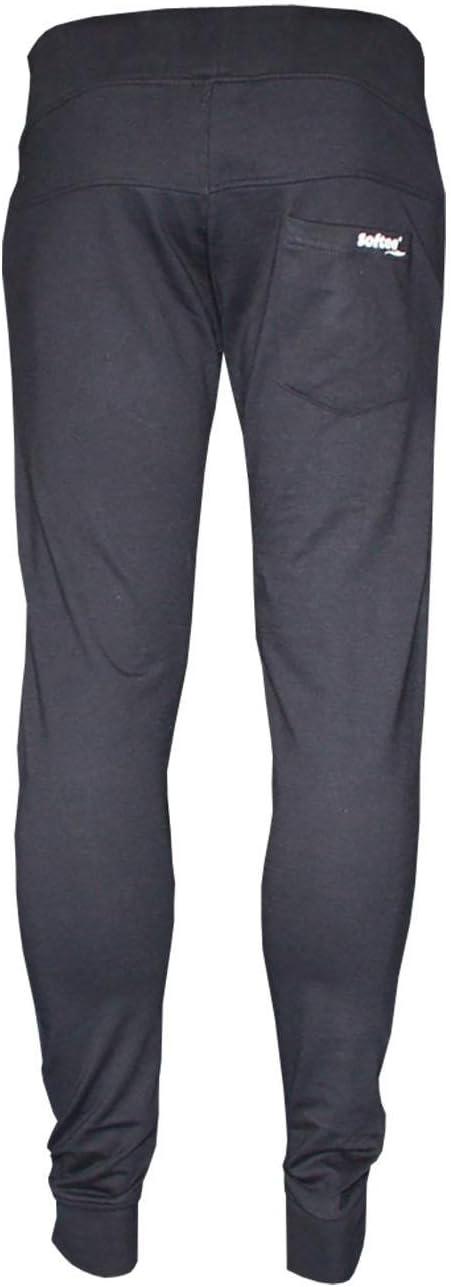 Softee Equipment Detroit Pantalón de Chándal, Hombre, Blanco, L ...