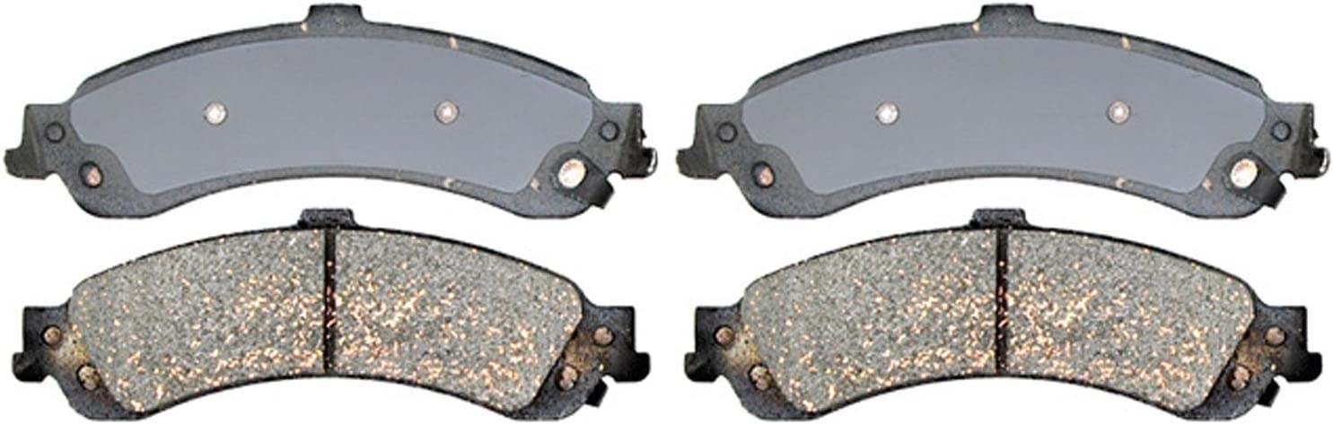 ACDelco 14D834CH Advantage Ceramic Rear Disc Brake Pad Set with Hardware
