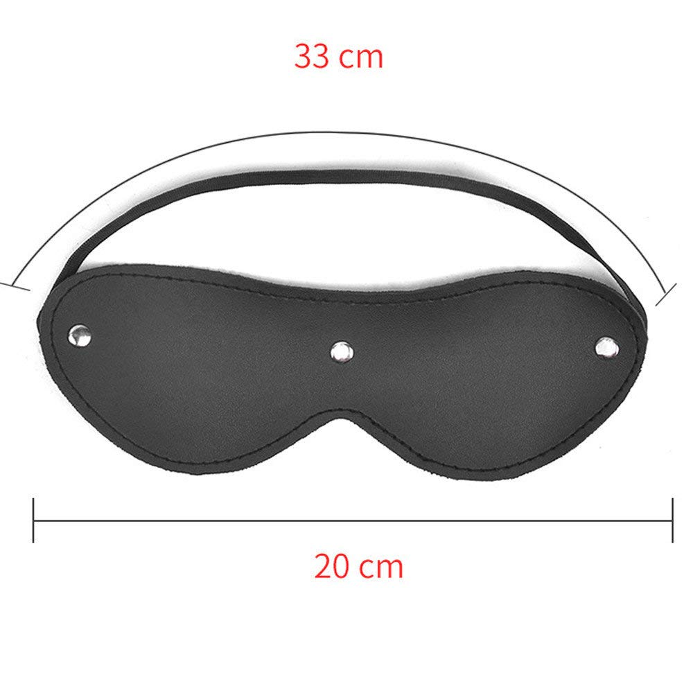 POLP SM Glasses Eye Patch Eyeshade Adult Sex Game Máscara Goggles Party Cosplay Juguetes Sexual Juguetes eroticos Juegos eroticos para Parejas Lesbianas ...