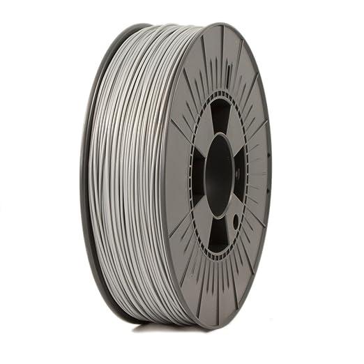 5 opinioni per Ice Filaments ICEFIL1PLA116 Filamento PLA 1.75mm, 0.75kg, Argento
