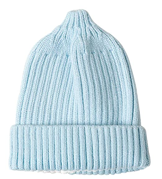 Ding Dong Baby Boy Girl Winter Knitted Solid Hat