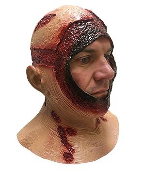 Sangriento Capucha Máscara completa látex Jason Halloween Terror Disfraz de película Máscaras