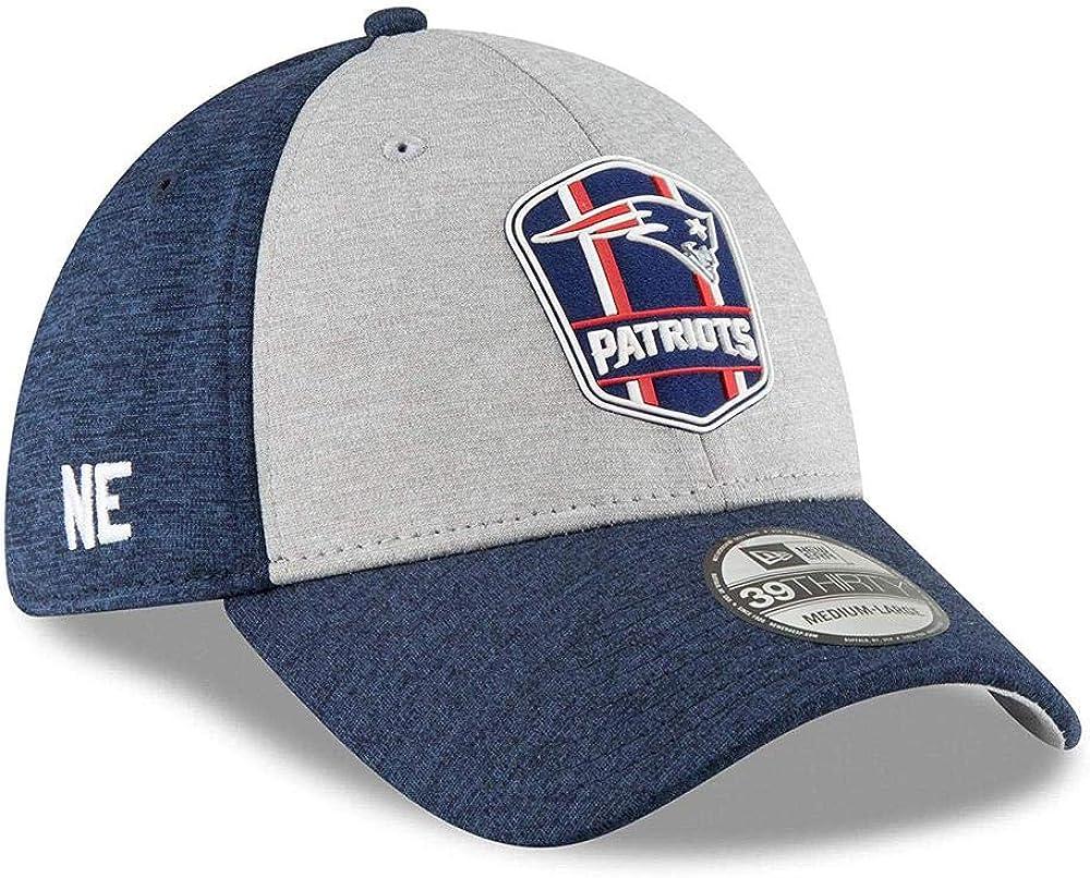 Black Sideline New England Patriots New Era 39Thirty Cap