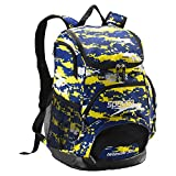 Speedo Printed Teamster 35L Backpack, Camo Blue, 1SZ