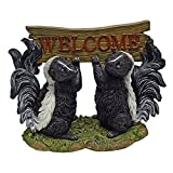 Cheap Design Toscano Something is in the Air Skunk Welcome Statue, Multicolored