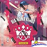 2018 Panini Diamond Kings Baseball HUGE Factory Sealed HOBBY Box with TWO(2) AUTOGRAPH or MEMORABILIA,3 Framed Parallel,2 SPS,2 Variations & 11 Inserts! Look for Rookies & Autographs of SHOHEI OHTANI