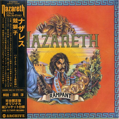 Nazareth - Rampant (Mini Lp Sleeve) - Zortam Music