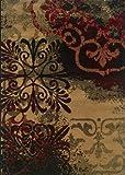 Oriental Weavers Camden 2022D Area Rug, 5-Feet 0-Inch By 7-Feet 3-Inch