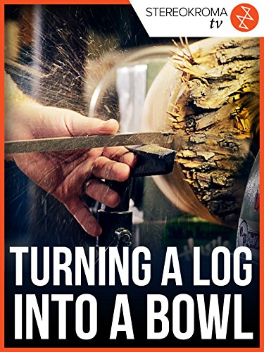 Turning a Log into a Bowl