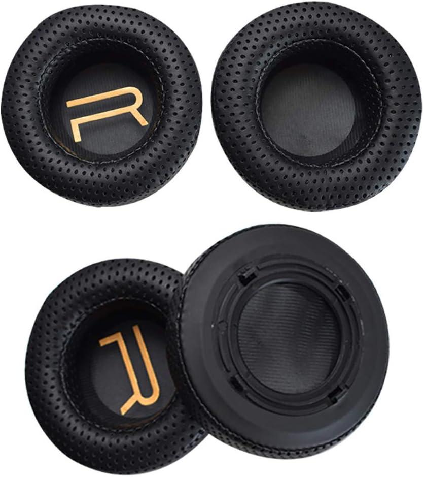 xcvz56dtee 1 par de Almohadillas para la orejera Almohadilla para el o/ído Funda de coj/ín para Auriculares Razer Manowar 7.1