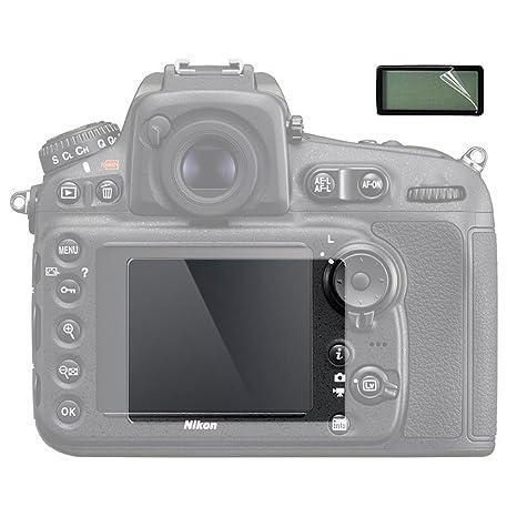 2 unidades) Protector de pantalla LCD para Nikon D810 D800 D800E ...