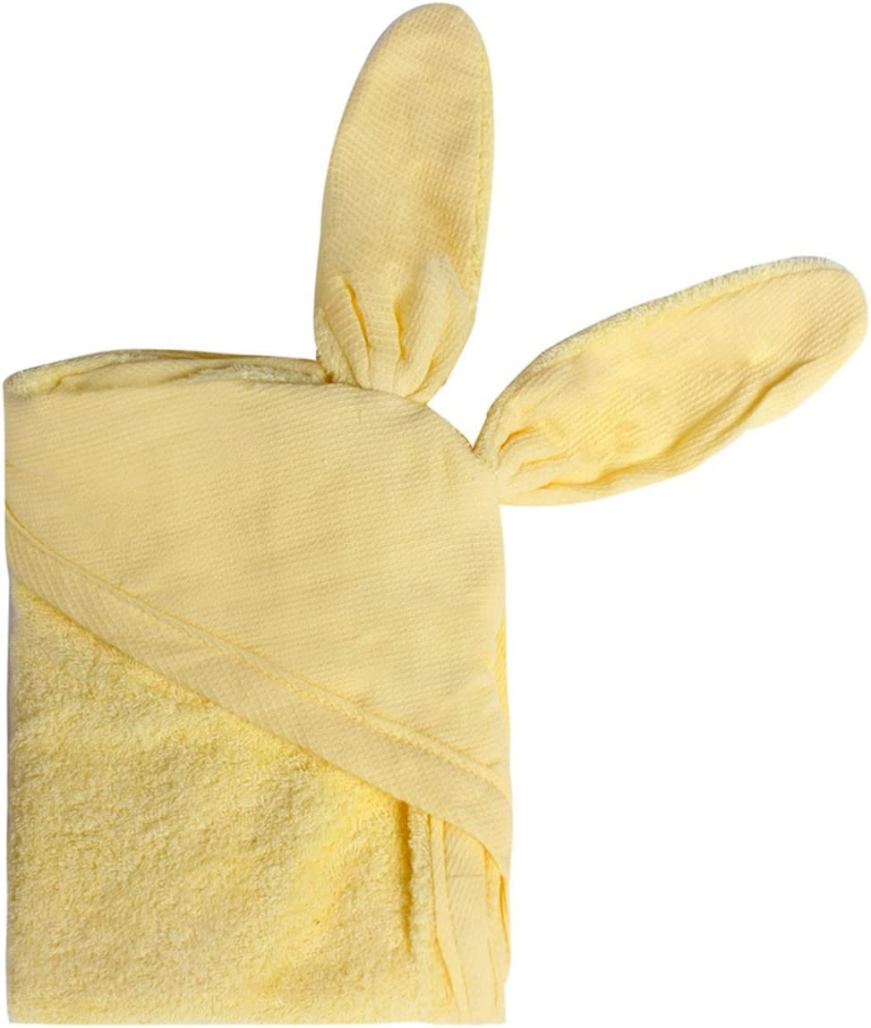/ni/ños beb/é ba/ño toalla delantal con capucha con orejas de oso Minene/ 70/x 70/cm verde