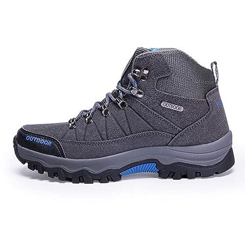 Hombres Senderismo Zapatos Outdoor Impermeable Camping Trekking Escalada Botas de montaña Hombres Zapatillas: Amazon.es: Zapatos y complementos