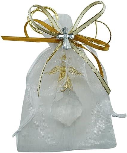 Amazon.com: 12 PCS Ángel llavero de vidrio decorado bolsa de ...