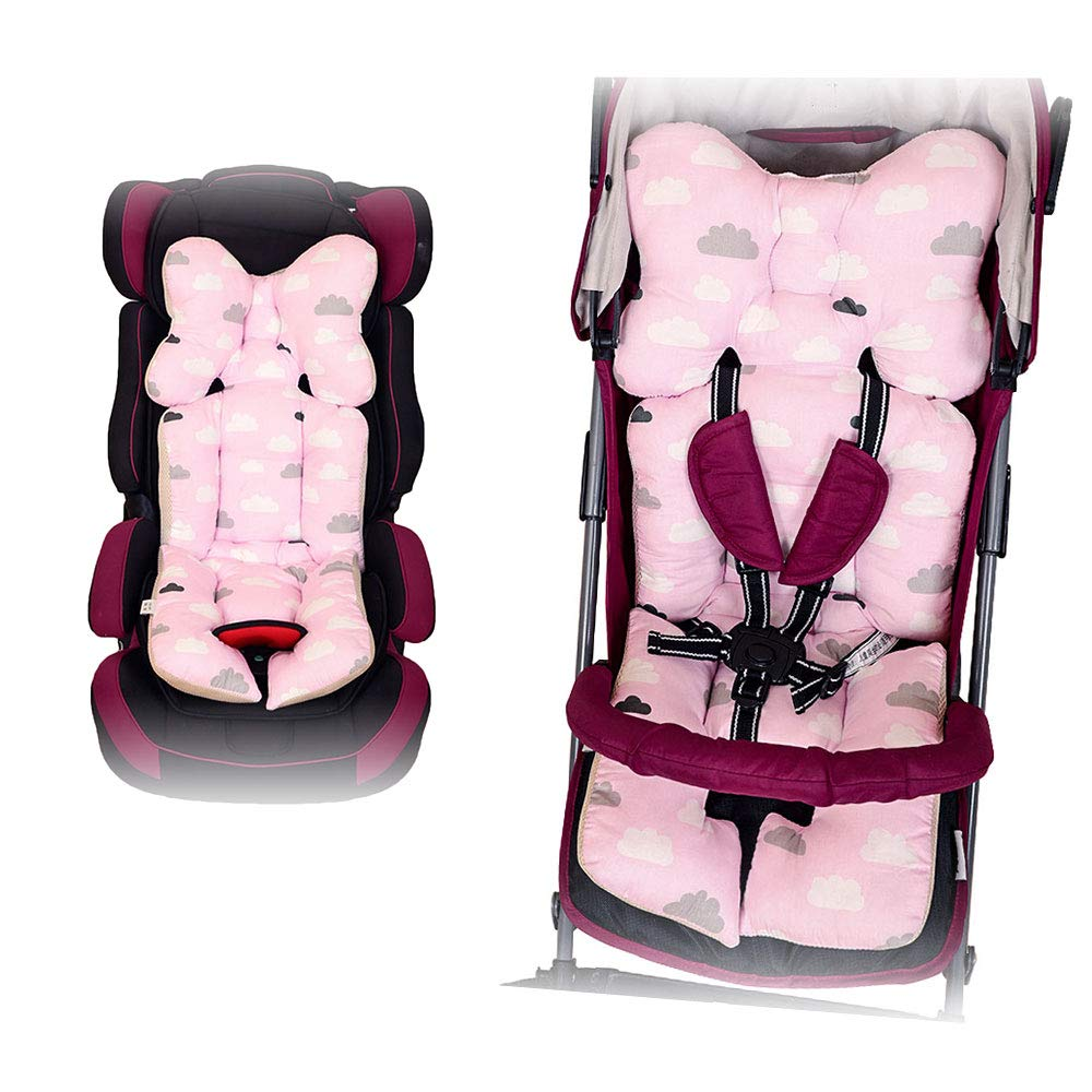Amazon.com: papasgix 3-Dimensional Air Mesh Cotton Universal Baby Seat Liner for Stroller Thicken Stroller Seat Cushion Car Seat Jogger Bouncer for Newborns ...