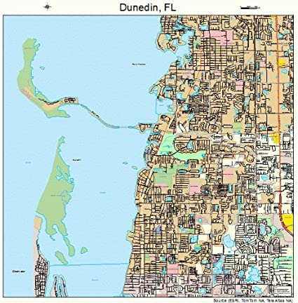 Amazon.com: Image Trader Large Street & Road Map of Dunedin ... on digital map of florida, the map of florida, florida map of florida, detailed map of florida, topographic map of florida, landscape map of florida, longitude map of florida, www.map of florida, travel map of florida, flood map of florida, house of florida, full state map florida, zoomable map of florida, freeway map of florida, weather of florida, race map of florida, large map of florida, driving map of florida, google map of florida, treasure coast of florida,